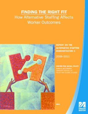 Finding the Right Fit: How Alternative Staffing Affects Worker Outcomes