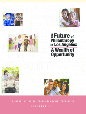 The Future of Philanthropy in Los Angeles: A Wealth of Opportunity