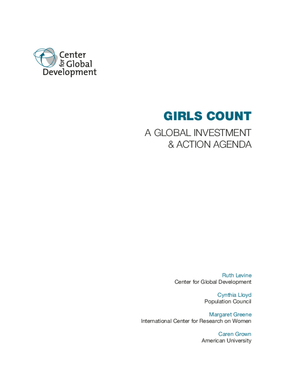 Girls Count: A Global Investment & Action Agenda