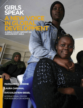 Girls Speak: A New Voice in Global Development