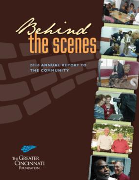 Greater Cincinnati Foundation 2010 Annual Report