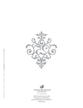 Greater New Orleans Foundation 2007 Annual Report