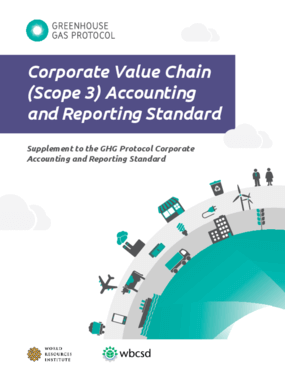 Greenhouse Gas Protocol Corporate Value Chain (Scope 3) Accounting and Reporting Standard