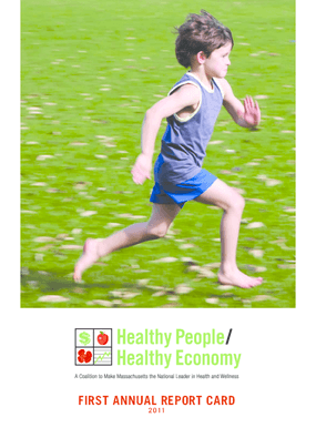 Healthy People/Healthy Economy First Annual Report Card