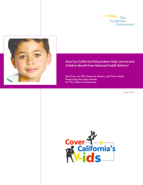 How Can California Policymakers Help Low-Income Children Benefit From National Health Reform?