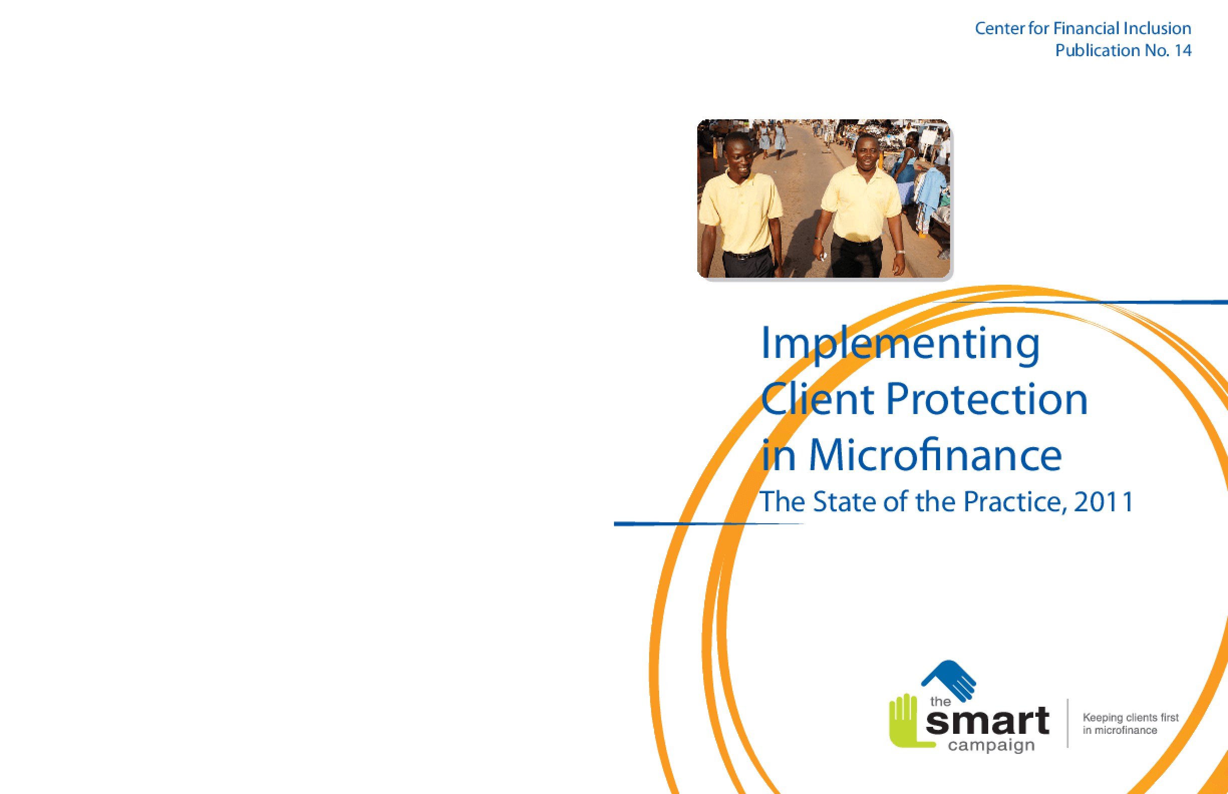 Implementing Client Protection in Microfinance: The State of the Practice, 2011