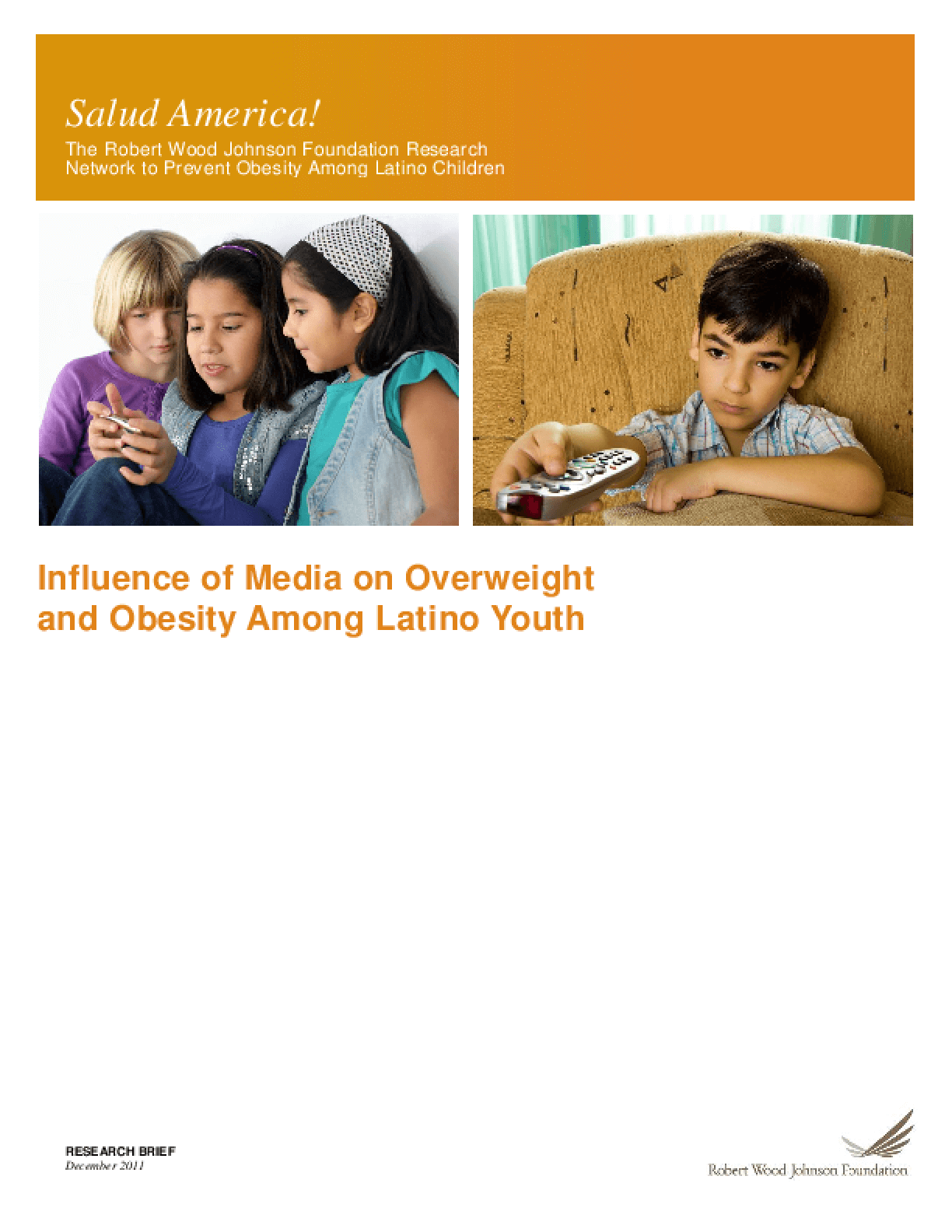 Influence of Media on Overweight and Obesity Among Latino Youth