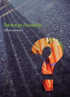 Kresge Foundation 2009 Annual Report