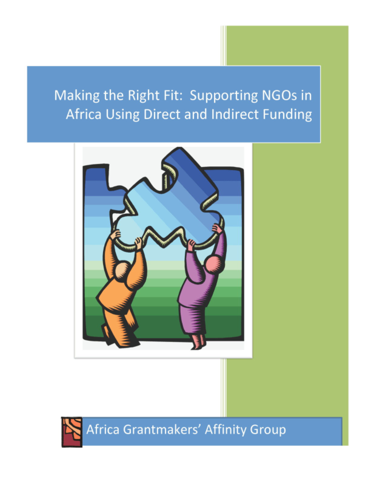 Making the Right Fit: Supporting NGOs in Africa Using Direct and Indirect Funding