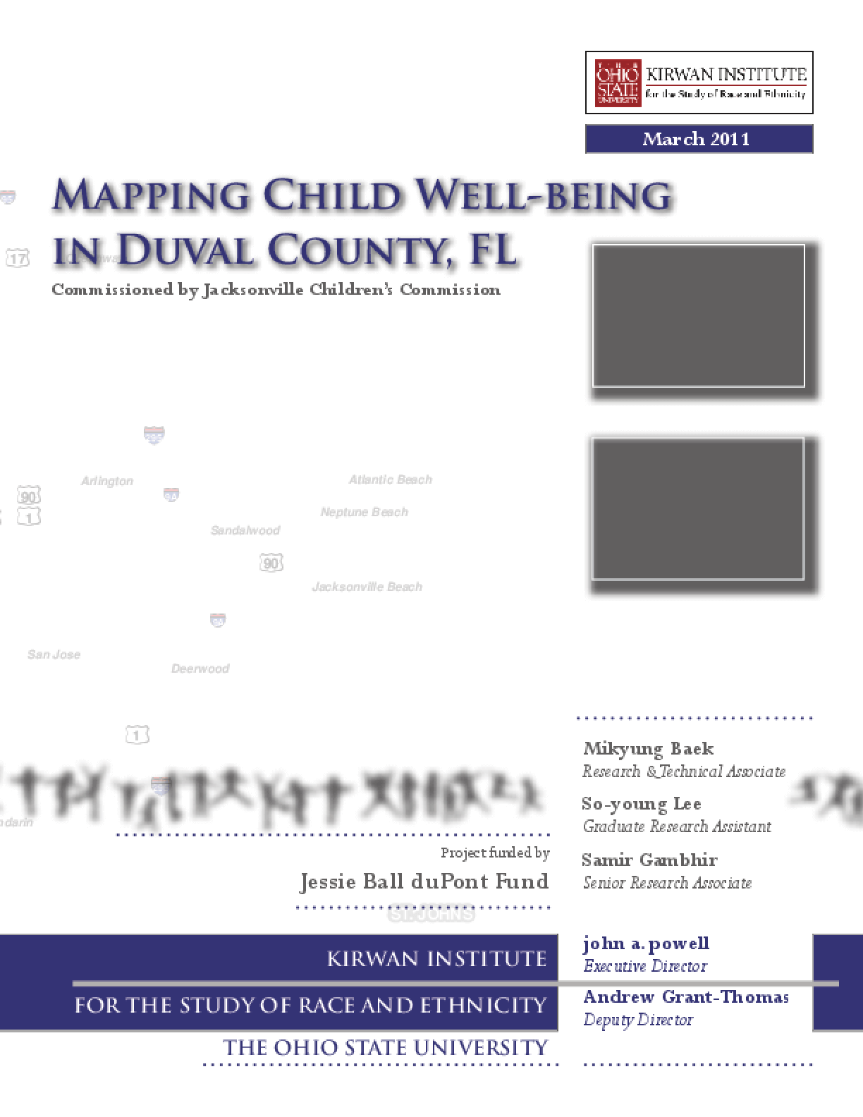Mapping Child Well-Being in Duval County, FL