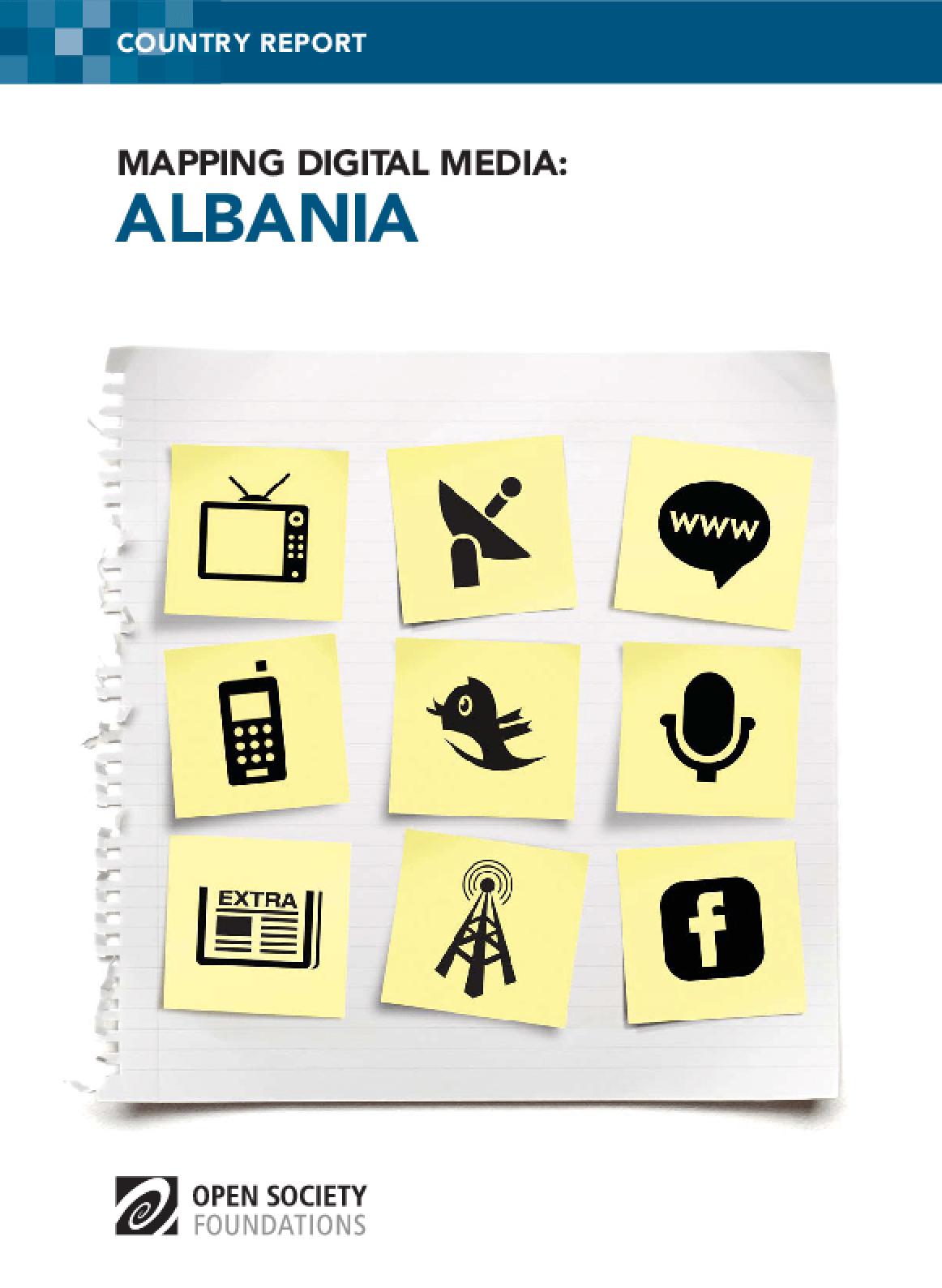 Mapping Digital Media: Albania