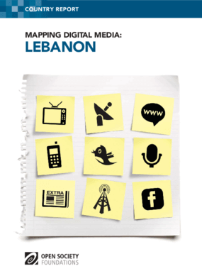 Mapping Digital Media: Lebanon