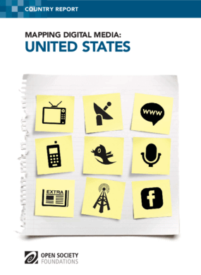Mapping Digital Media: United States