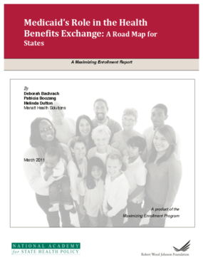 Medicaid's Role in the Health Benefits Exchange: A Road Map for States