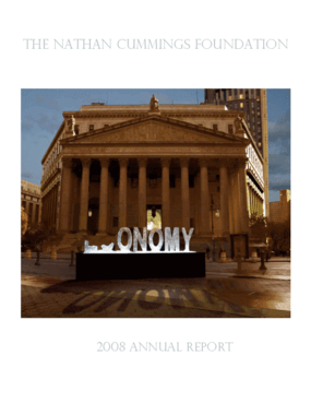Nathan Cummings Foundation 2008 Annual Report