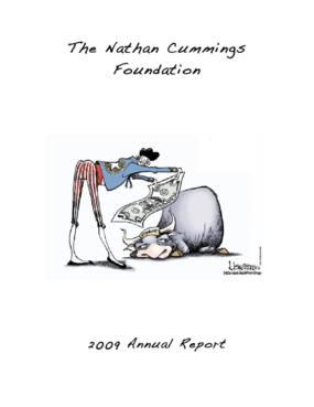 Nathan Cummings Foundation 2009 Annual Report