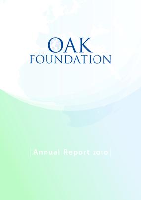 Oak Foundation Annual Report 2010