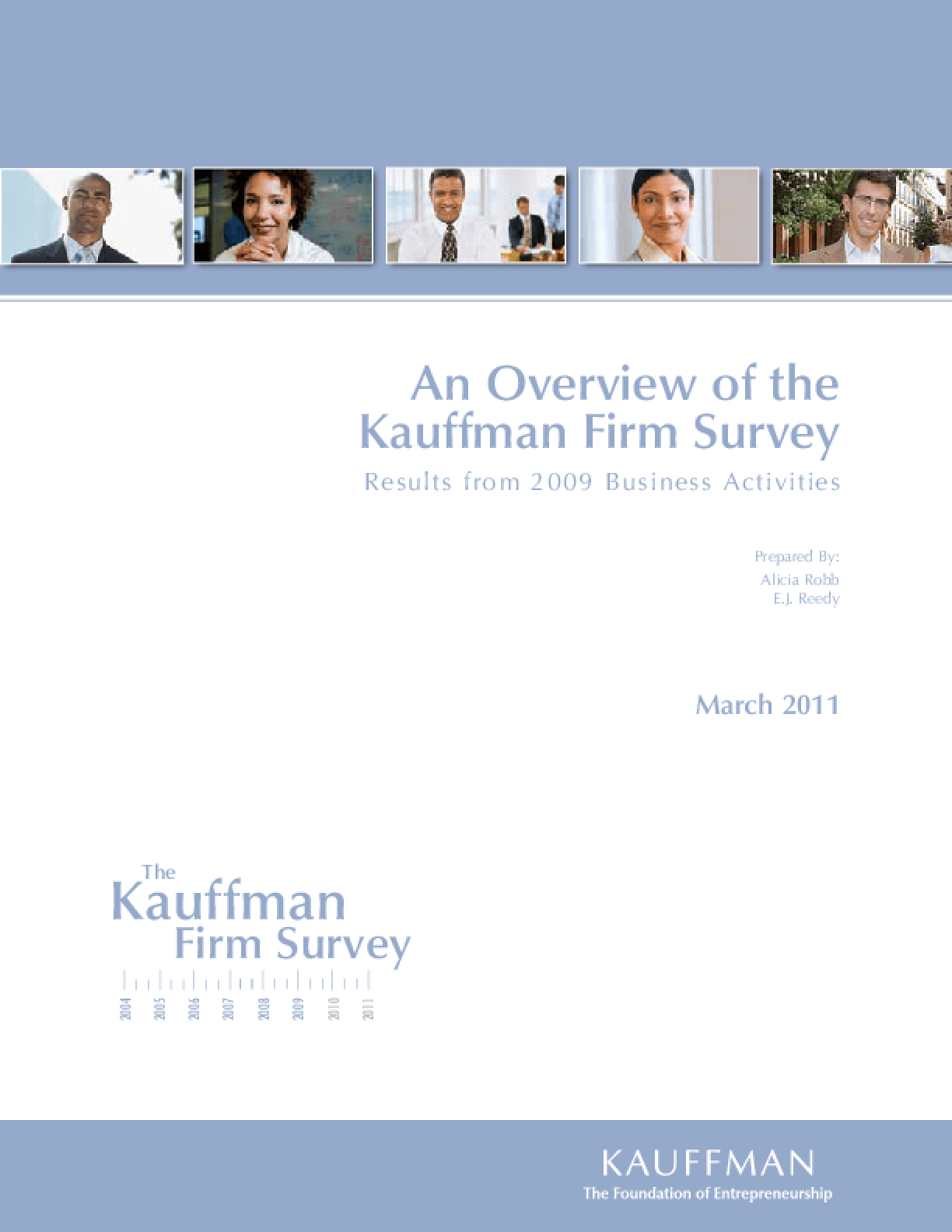 An Overview of the Kauffman Firm Survey: Results From 2009 Business Activities