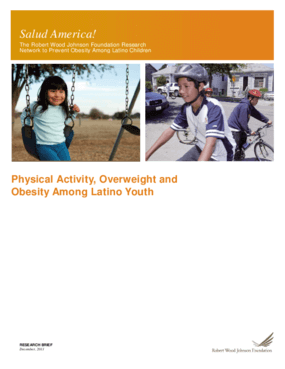 Physical Activity, Overweight and Obesity Among Latino Youth