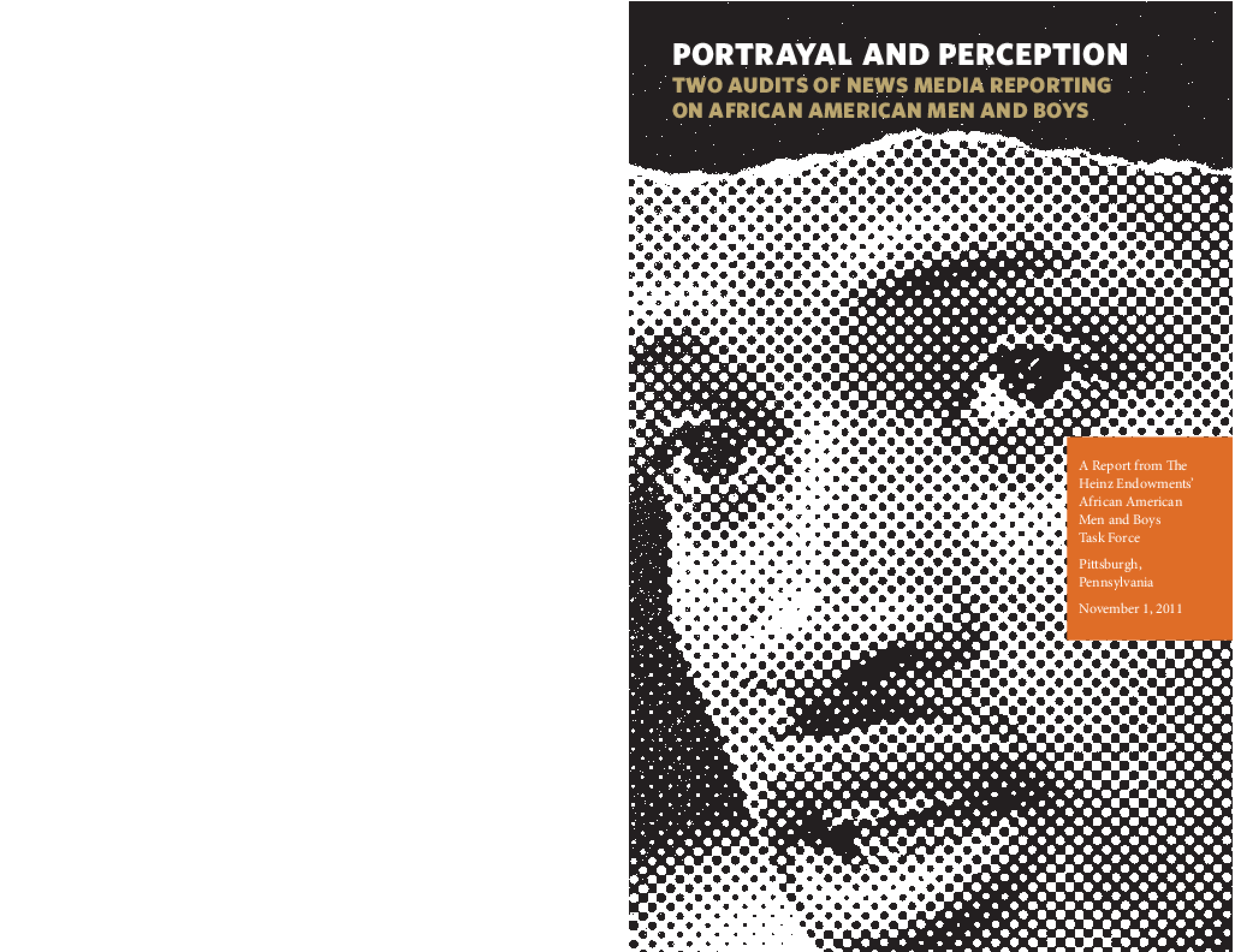 Portrayal and Perception: Two Audits of News Media Reporting on African American Men and Boys
