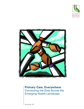 Primary Care, Everywhere: Connecting the Dots Across the Emerging Health Landscape