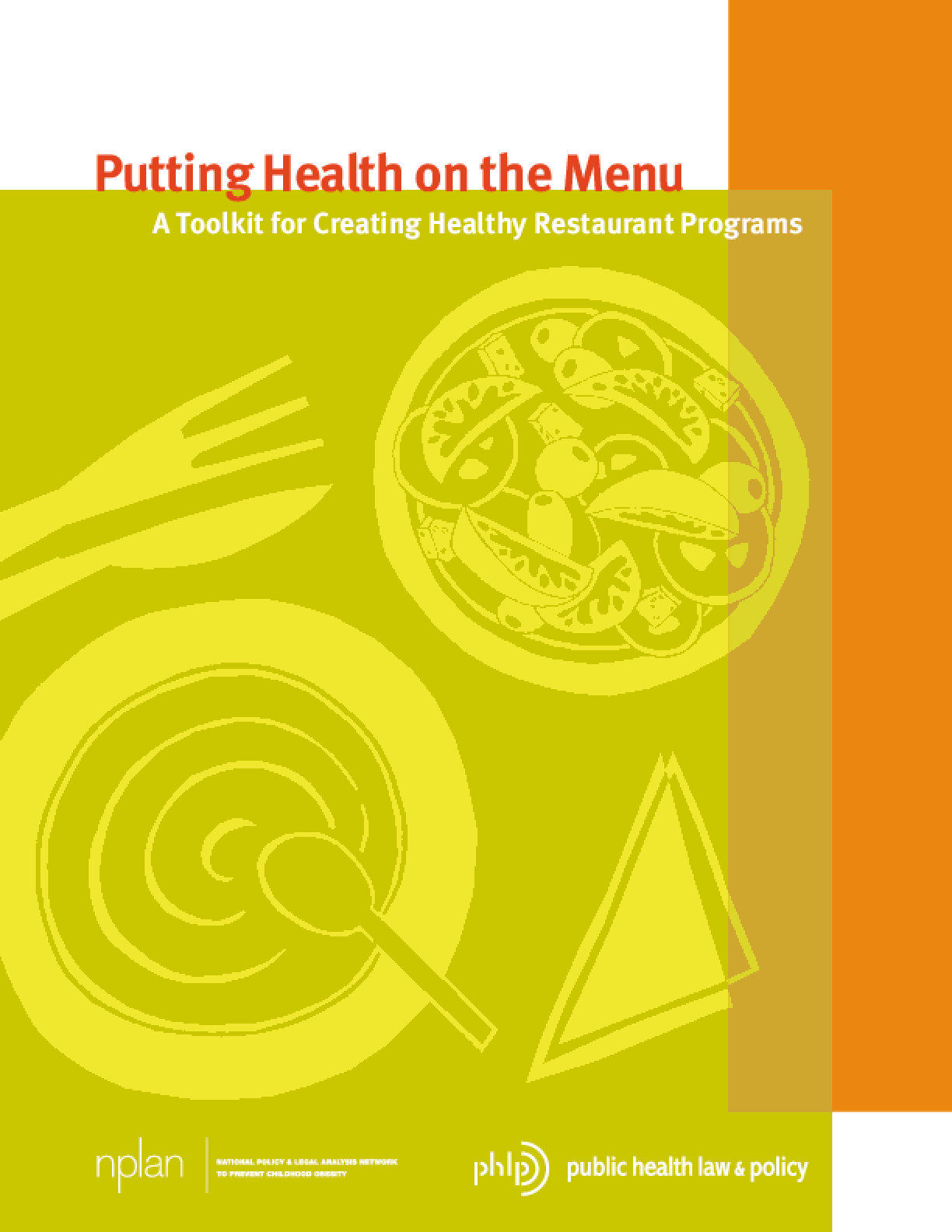 putting health on the menu a toolkit for creating healthy