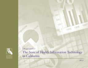 The State of Health Information Technology in California 2011