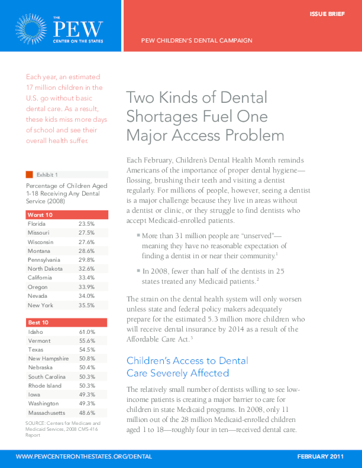 Two Kinds of Dental Shortages Fuel One Major Access Problem
