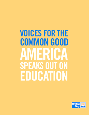 Voices for the Common Good: America Speaks Out on Education