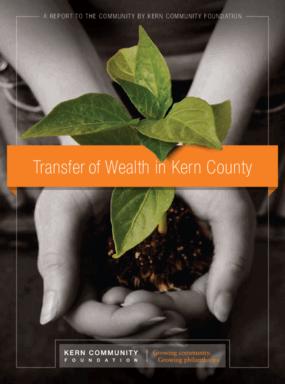 Wealth in Kern County: A Transfer of Wealth Opportunity