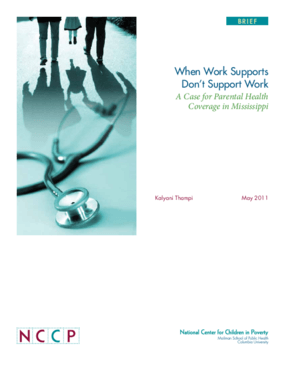 When Work Supports Don't Support Work: A Case for Parental Health Coverage in Mississippi