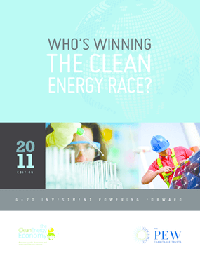 Who's Winning the Clean Energy Race? 2011 Edition