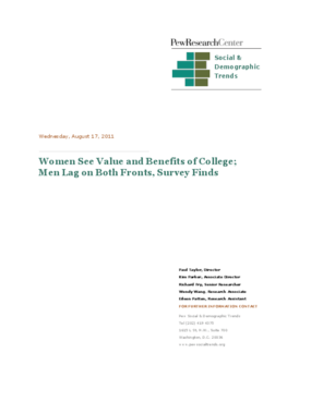 Women See Value and Benefits of College; Men Lag on Both Fronts, Survey Finds