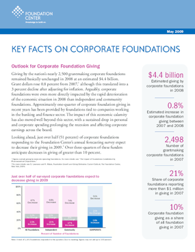 Key Facts on Corporate Foundations 2009
