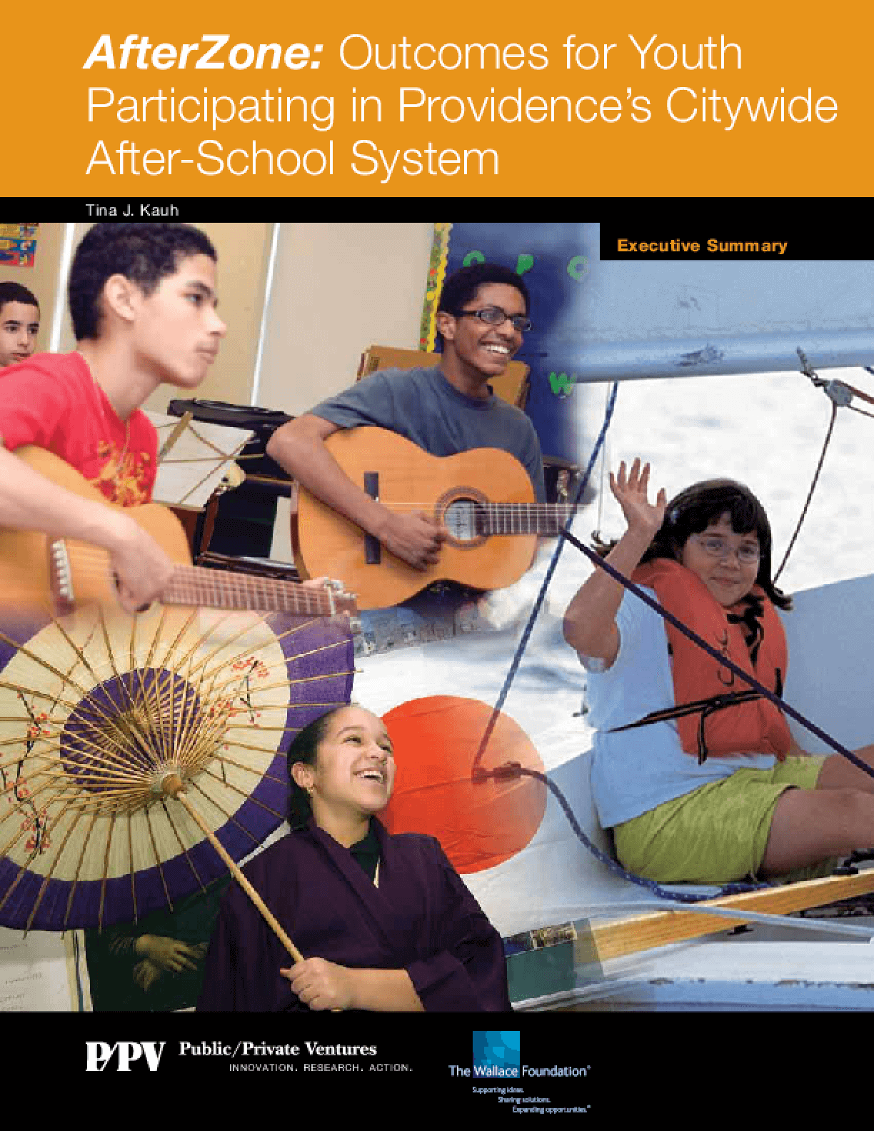 AfterZone: Outcomes for Youth Participating in Providence's Citywide After-School System, Executive Summary