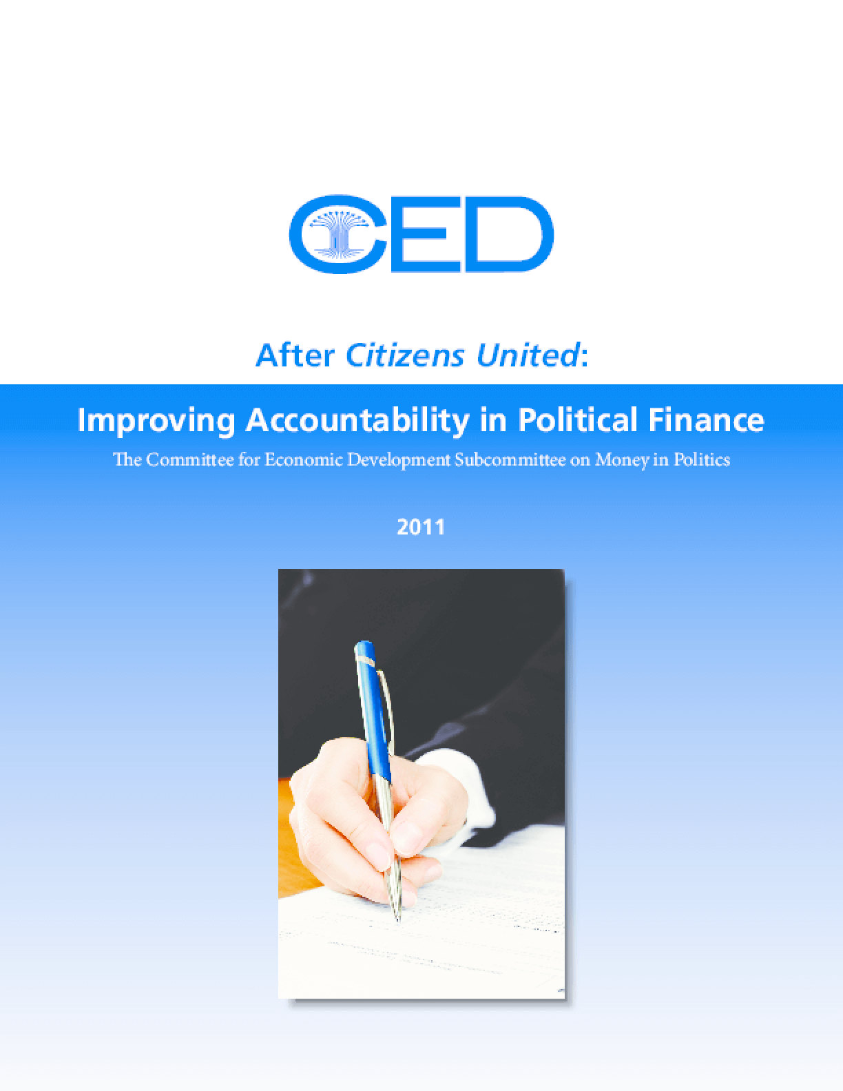 After Citizens United: Improving Accountability in Political Finance