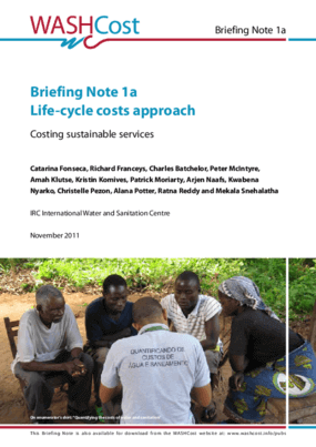 Briefing Note 1A - Life-Cycle Costs Approach: Costing Sustainable Services