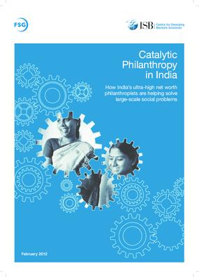 Catalytic Philanthropy In India