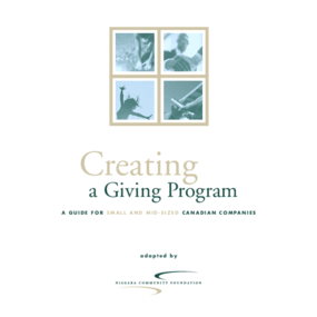Creating a Giving Program: A Guide for Small and Mid-Sized Canadian Companies