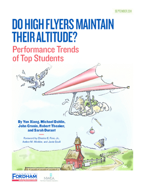Do High Flyers Maintain Their Altitude? Performance Trends of Top Students