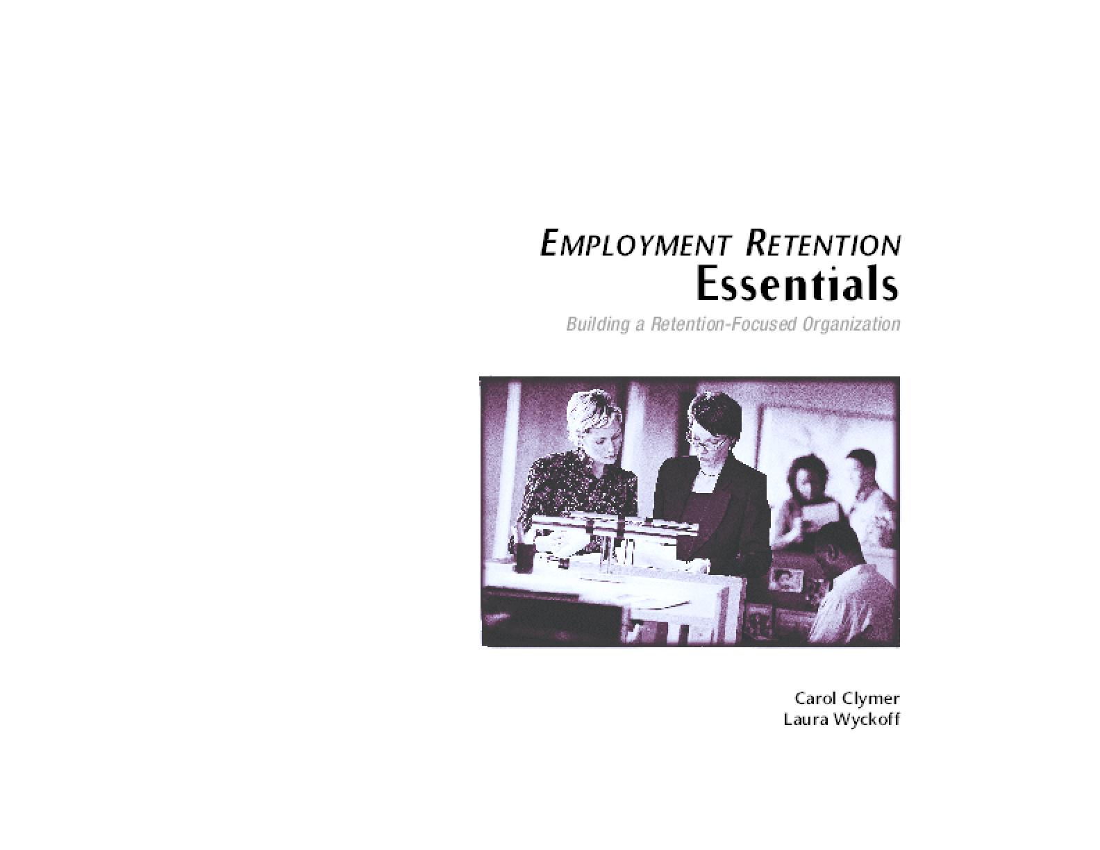 Employment Retention Essentials