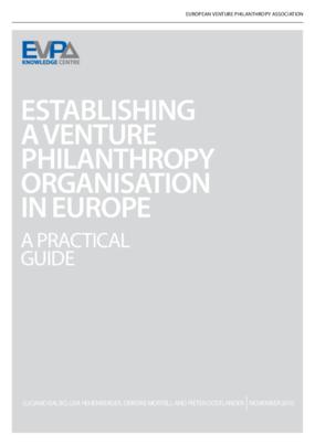 Establishing a Venture Philanthropy Organisation in Europe