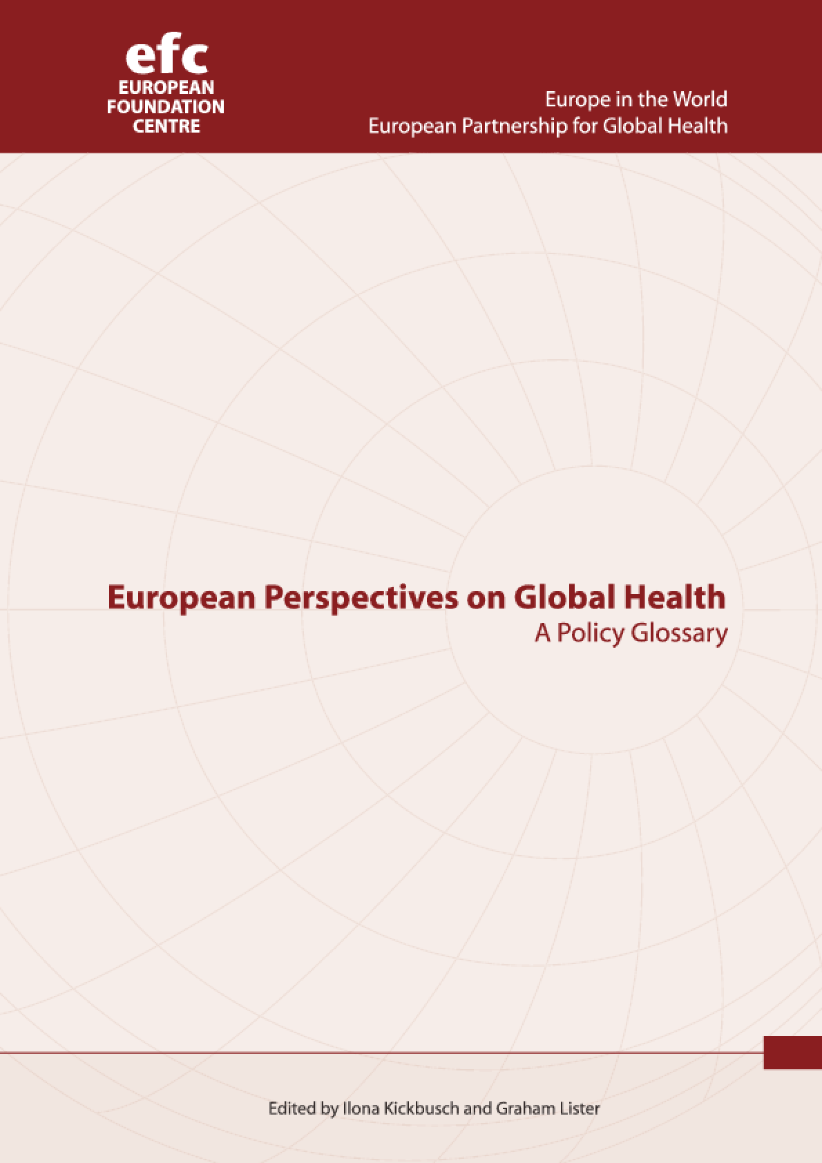 European Perspectives on Global Health: A Policy Glossary