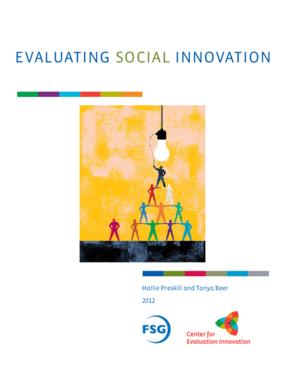Evaluating Social Innovation