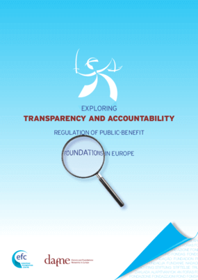 Exploring Transparency and Accountability: Regulation of Public-Benefit Foundations in Europe