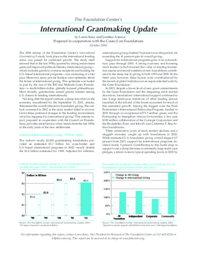 Foundation Center's International Grantmaking Update