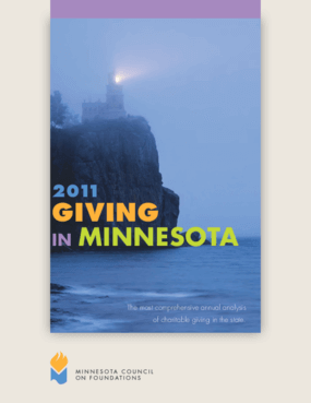Giving in Minnesota, 2011 Edition Summary