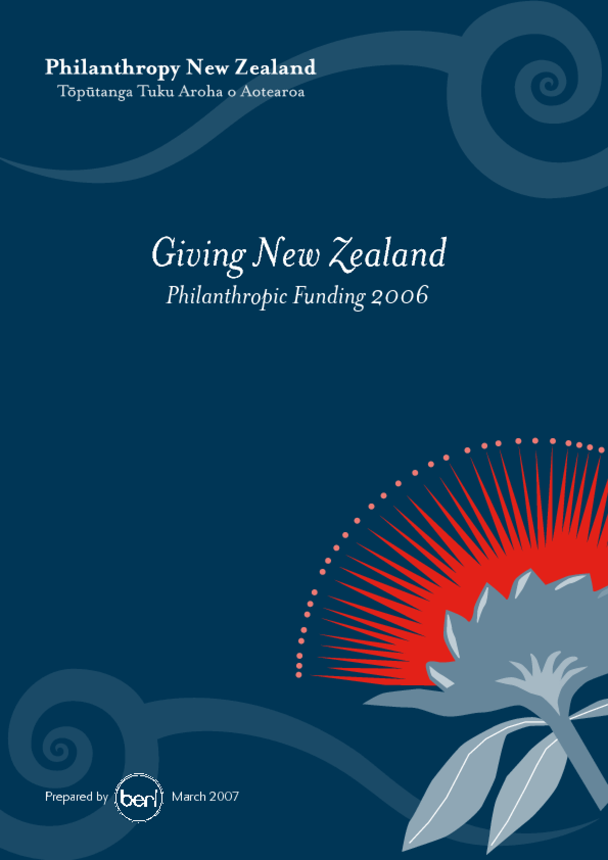 Giving New Zealand: Philanthropic Funding 2006