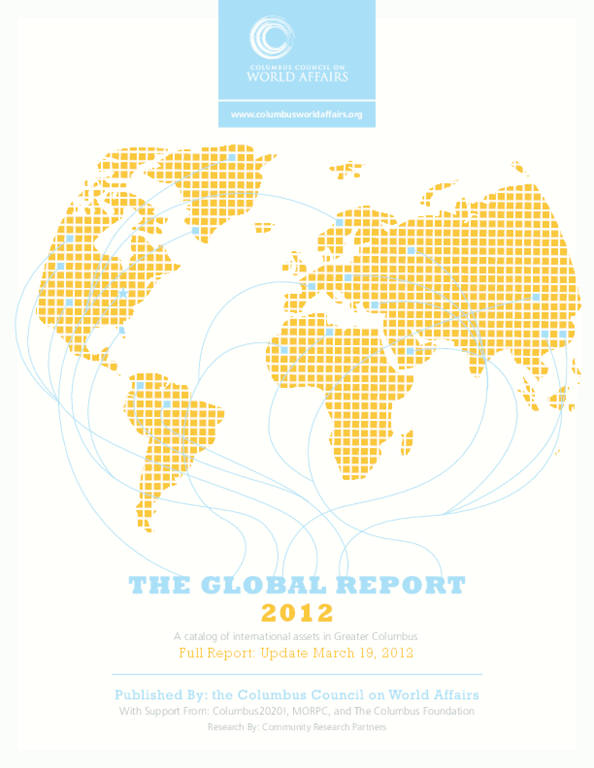 The Global Report 2012: A catalog of international assets in Greater Columbus