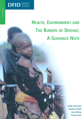 Health, Environment and the Burden of Disease: A Guidance Note